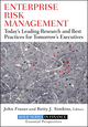Enterprise Risk Management: Today's Leading Research and Best Practices for Tomorrow's Executives (0470499087) cover image