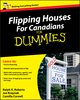 Flipping Houses For Canadians For Dummies (0470677287) cover image