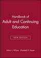 Handbook of Adult and Continuing Education, New Edition (0470907487) cover image