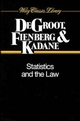 Statistics and the Law (0471055387) cover image