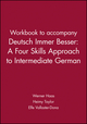 Workbook to accompany Deutsch Immer Besser: A Four Skills Approach to Intermediate German (0471105287) cover image