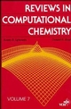Reviews in Computational Chemistry, Volume 7 (0471186287) cover image