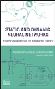 Static and Dynamic Neural Networks: From Fundamentals to Advanced Theory (0471219487) cover image