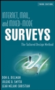Internet, Mail, and Mixed-Mode Surveys: The Tailored Design Method, 3rd Edition (0471698687) cover image