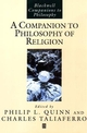 Companion to Philosophy of Religion (0631213287) cover image
