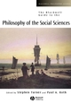The Blackwell Guide to the Philosophy of the Social Sciences (0631215387) cover image