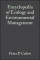 Encyclopedia of Ecology and Environmental Management (0865428387) cover image