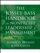 The Jossey-Bass Handbook of Nonprofit Leadership and Management, 2nd Edition (1118046587) cover image