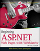 Beginning ASP.NET Web Pages with WebMatrix (1118050487) cover image