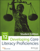Developing Core Literacy Proficiencies, Grade 12, Student Edition (1119192587) cover image