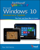 Teach Yourself VISUALLY Windows 10 Anniversary Update (1119311187) cover image
