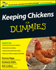 Keeping Chickens For Dummies, UK Edition (1119994187) cover image