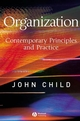 Organization: Contemporary Principles and Practice (1405116587) cover image