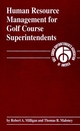 Human Resource Management for Golf Course Superintendents (1575040387) cover image
