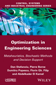 Optimization in Engineering Sciences: Metaheuristic, Stochastic Methods and Decision Support (1848214987) cover image