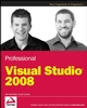 Professional Visual Studio 2008 (0470229888) cover image