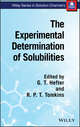 The Experimental Determination of Solubilities (0471497088) cover image