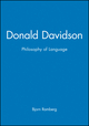 Donald Davidson: Philosophy of Language (0631164588) cover image