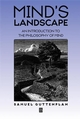 Mind's Landscape: An Introduction to the Philosophy of Mind (0631202188) cover image