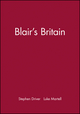 Blair's Britain (0745624588) cover image