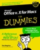 Microsoft Office v.X for Macs For Dummies (0764516388) cover image