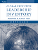 Global Executive Leadership Inventory (GELI), Observer, Observer (0787974188) cover image