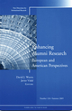 Enhancing Alumni Research: European and American Perspectives, No. 126, Summer 2005 (0787982288) cover image