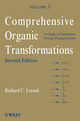 Comprehensive Organic Transformations, A Guide to Functional Group Preparations, Two Volume Set, 2nd Edition (1118037588) cover image