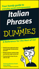 Italian Phrases For Dummies (1118054288) cover image