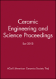 Ceramic Engineering and Science Proceedings 2013 Set