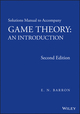 Solutions Manual to Accompany Game Theory: An Introduction, 2nd Edition (1118274288) cover image