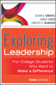 Exploring Leadership: For College Students Who Want to Make a Difference, 3rd Edition (1118417488) cover image