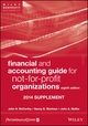 Financial and Accounting Guide for Not-for-Profit Organizations, Eighth Edition 2014 Supplement (1118797388) cover image