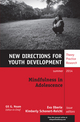 Mindfulness in Adolescence: New Directions for Youth Development, Number 142 (1118961188) cover image