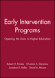 Early Intervention Programs: Opening the Door to Higher Education (1878380788) cover image