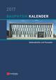 Bauphysik-Kalender 2017: Schwerpunkt - Gebäudehülle und Fassaden (3433607788) cover image