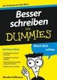 Besser schreiben für Dummies (3527642188) cover image