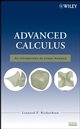 Advanced Calculus: An Introduction to Linear Analysis  (0470232889) cover image