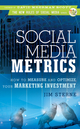 Social Media Metrics: How to Measure and Optimize Your Marketing Investment (0470583789) cover image