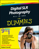 Digital SLR Photography All-in-One For Dummies® (0470768789) cover image
