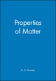 Properties of Matter (0471264989) cover image