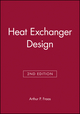 Heat Exchanger Design, 2nd Edition (0471628689) cover image