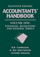 Accountants' Handbook, Volume 1, Financial Accounting and General Topics, 11th Edition (0471790389) cover image