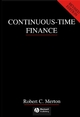 Continuous-Time Finance (0631185089) cover image
