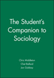 The Student's Companion to Sociology (0631199489) cover image