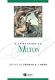 A Companion to Milton (0631214089) cover image
