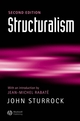 Structuralism: With an Introduction by Jean-Michel Rabate, 2nd Edition (0631232389) cover image