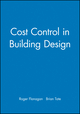 Cost Control in Building Design (0632040289) cover image