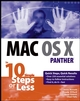 Mac OS X Panther in 10 Simple Steps or Less (0764542389) cover image