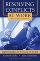 Resolving Conflicts at Work: Eight Strategies for Everyone on the Job, Revised Edition (1118046889) cover image